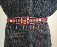 Cinturón Marruecos rojo