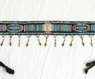 Cinturón Marruecos azul