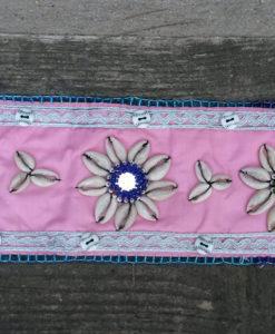Cinturón conchas rosa Ibiza Trendy