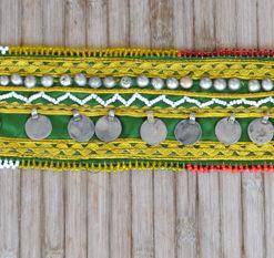 Cinturón monedas Ibiza Trendy verde