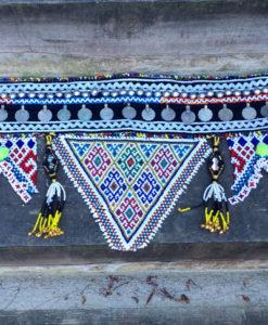 Cinturón étnico monedas Ibiza Trendy color negro