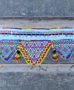 Cinturón afgano monedas colores turquesa Ibiza Trendy 1
