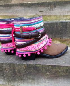 Boho boots Ibiza Style Las Dalias hippie market