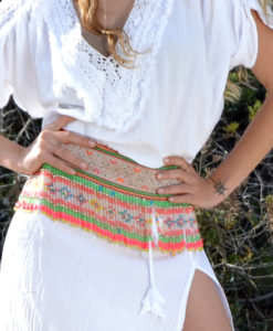 Cinturon tribal Thai boho chic 1