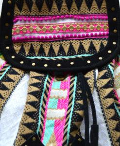 Embellished tribal backpack Ibiza Trendy