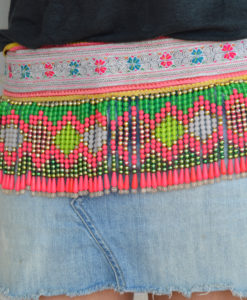 Thai Tribal belt from las dalias Ibiza