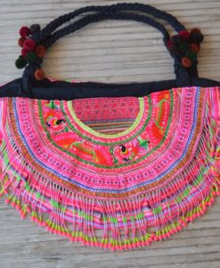 Bolso Thai flecos colores 1