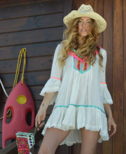 Fioroni ibiza boho white dress 2