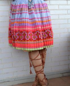 TRibal Skirt Las Dalias Ibiza Hereos