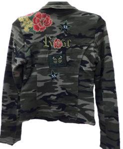 chaqueta militar Ibiza  espalda