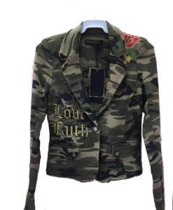 chaqueta militar camuflaje bordados ibiza delante