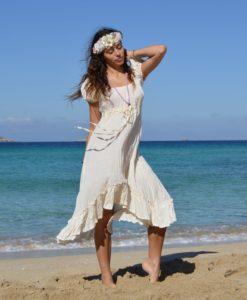 Vestido asimetrico Kailash Ibiza