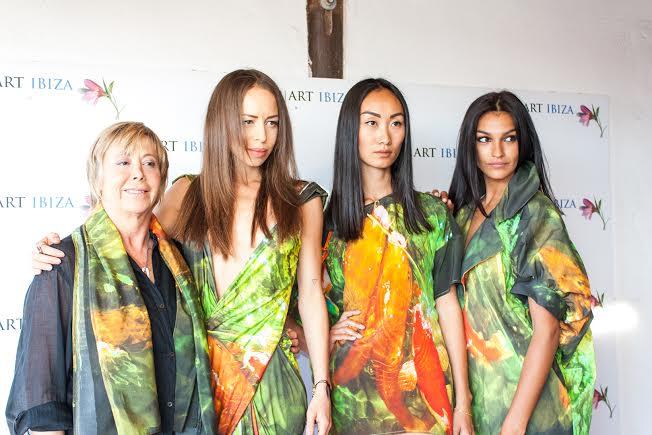 Modelos P Art Ibiza fashion show
