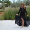 Falda Free love negra 2