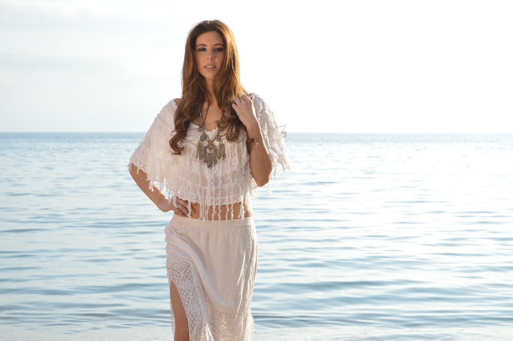 Poncho adlib corto ibiza trendy tienda online online - Ropa estilo ibicenco ...
