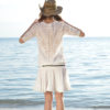 Parte posterior vestido blanco boho chic Ibiza Trendy Tony Bonet