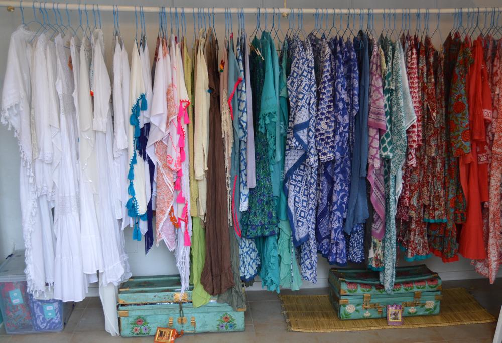 Tunicas y kaftanes Aurobelle Ibiza tienda Sant Josep