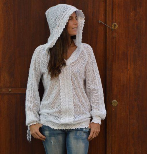Sudadera Adlib boho chic capucha Ibiza
