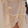 Detalle puntillas falda ibicenca Tony Bonet