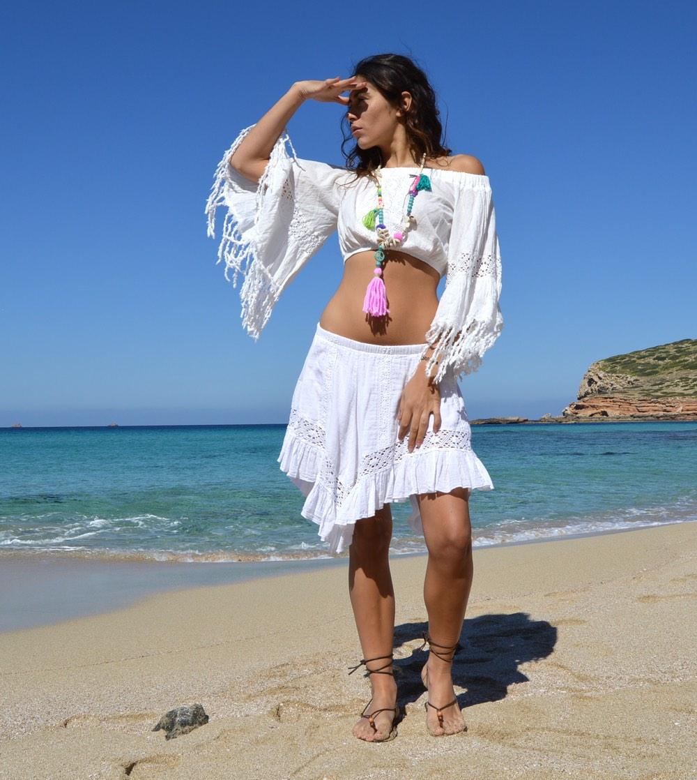Crop top Adlib – Ibiza Trendy | Tienda online | Online store