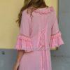 Detalle espalda vestido fioroni collection boho chic rosa-1