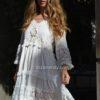 Vestido ibicenco boho con puntillas Ibiza Trendy Fioroni collection-1
