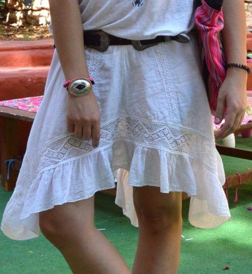 falda asimetrica tony bonet moda ibicenca boho chic
