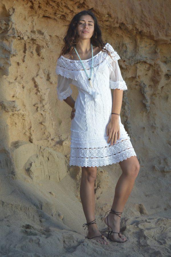Little white dress Ibiza Tony Bonet