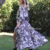 Military camo dress Ibiza Trendy Free Love boho chic