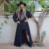Vestido asimetrico invierno Free Love Ibiza Trendy