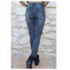 jeans negros bordados atras