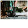 Botas cowboy mujer negras Ibiza Trendy