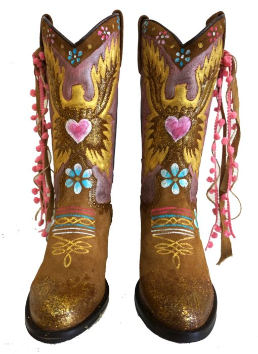 Eagle boots colors golden ibiza trenyd Lola