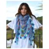 Izuskan scarf in blue Ibiza Trendy