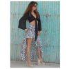 Sexy leopard skirt ibiza trendy