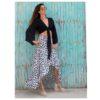 carlie leopard boho skirt ibiza trendy face