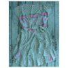 wrap dress in green