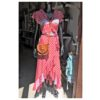 wrap red dress ibiza trendy boho chic