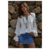 Blusa puntillas fioroni collection las dalias ibiza
