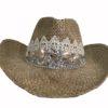Sombrero pedreria puntillas Ibiza Trendy