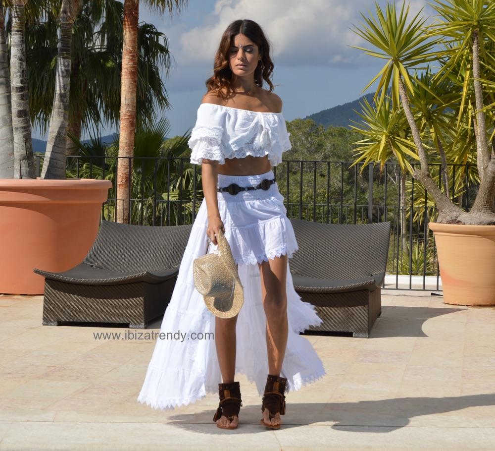67338f500e Asymmetrical Ibiza lace skirt – Ibiza Trendy   Tienda online ...