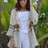 linen boho chic jacket from ibiza
