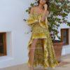 vestido flores amarillas vintage ibiza trendy boho chic free love