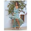 vestido flores vintage azules free love ibiza trendy