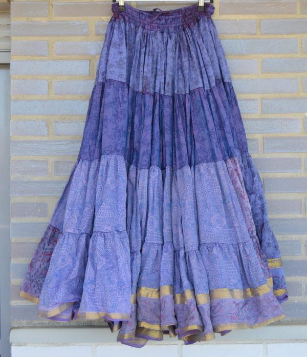 maxi falda gypsy azul 3