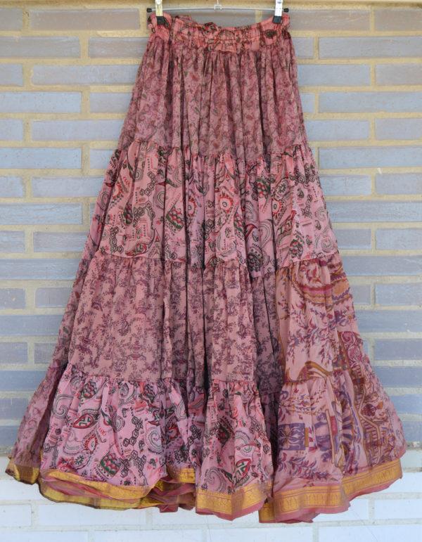 maxi falda gypsy rosa 2