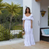 Maxi vestido blanco tony bonet adlib ibiza
