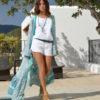 mini short kimono ibiza trendy