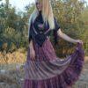 Falda indian lila def