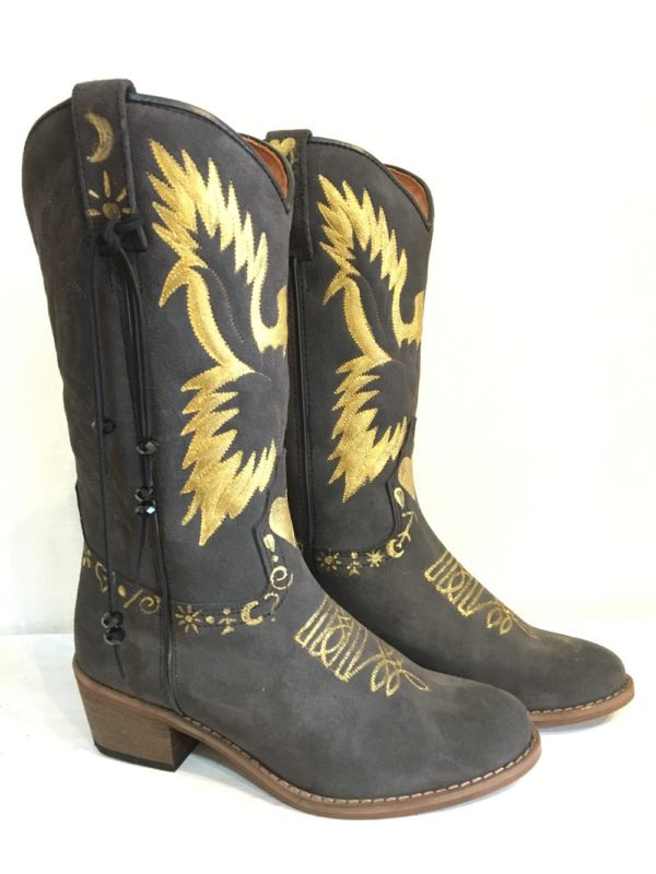 eagle boot in grey 2